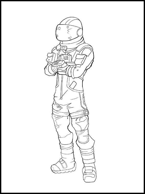 Coloriage Fortnite A Imprimer 9