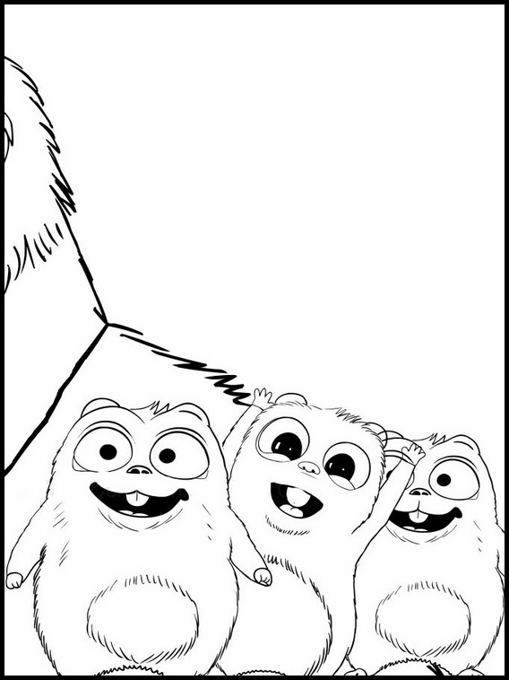 Grizzy et les lemmings dessin de 4 - Dessin de grizzly ...