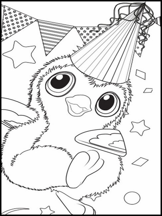 Hatchimals A Colorier 5