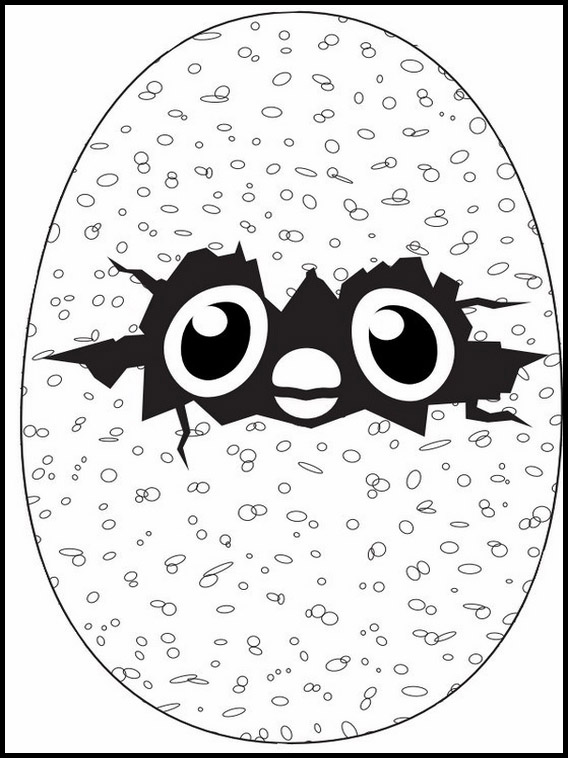 Dessin imprimer Hatchimals 6
