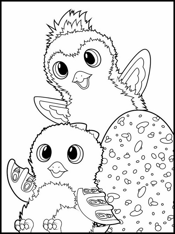 Coloriage Hatchimals á Imprimer 9