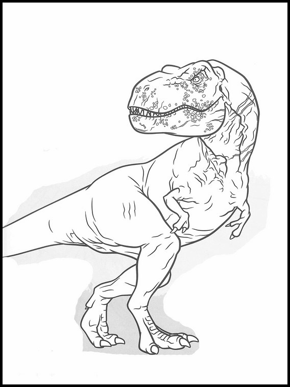 Dessin De Jurassic World 32