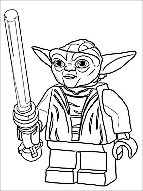 Coloriage Lego Star Wars 1