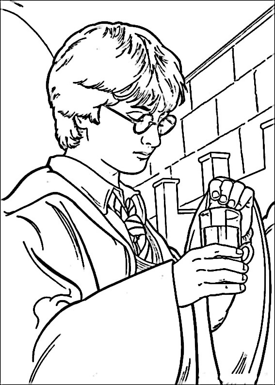 Harry Potter Coloriage 13