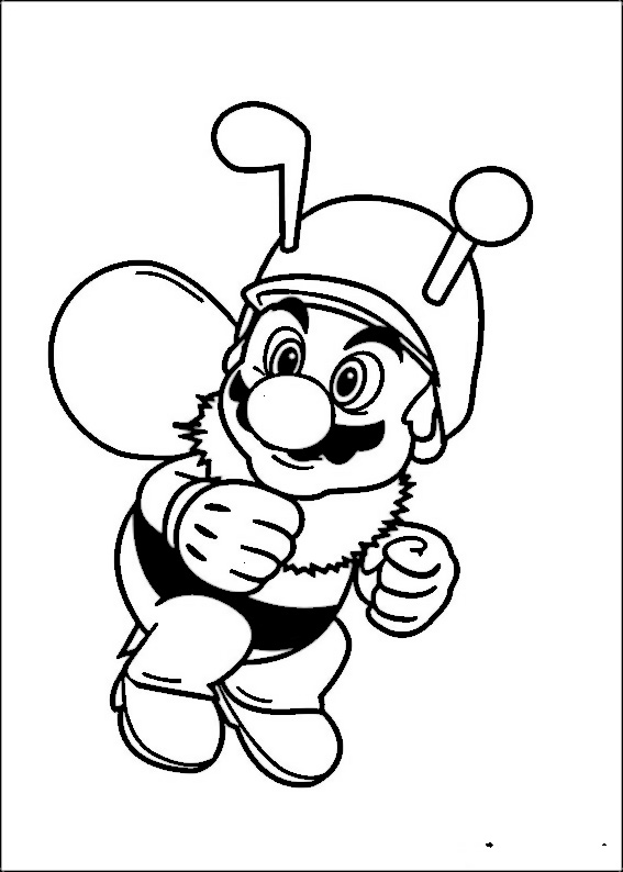 Coloriage Mario Bros 31